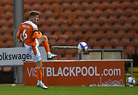 Blackpool's Ethan Robson<br /> <br /> Photographer Dave Howarth/CameraSport<br /> <br /> EFL Trophy - Northern Section - Group G - Blackpool v Leeds United U21 - Wednesday 11th November 2020 - Bloomfield Road - Blackpool<br />  <br /> World Copyright © 2020 CameraSport. All rights reserved. 43 Linden Ave. Countesthorpe. Leicester. England. LE8 5PG - Tel: +44 (0) 116 277 4147 - admin@camerasport.com - www.camerasport.com