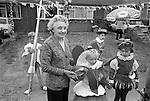 Silver Jubilee Street Party 1977 Barking east London. UK.  Fancy dress competition contestants.<br /> <br /> My ref 7/2061/,1977,