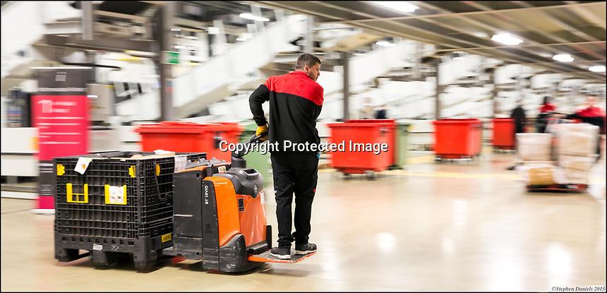 © STEPHEN DANIELS 2015<br /> Parcel Distribution Centre