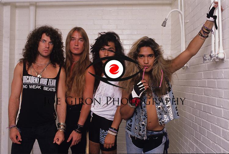 Portraits & live photographs of the band, Bullett Boys