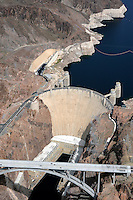 Aerial of Hoover Dam