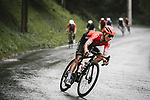 Nairo Quintana (COL) Team Arkea-Samsic descends during Stage 8 of the 2021 Tour de France, running 150.8km from Oyonnax to Le Grand-Bornand, France. 3rd July 2021.  <br /> Picture: A.S.O./Pauline Ballet | Cyclefile<br /> <br /> All photos usage must carry mandatory copyright credit (© Cyclefile | A.S.O./Pauline Ballet)