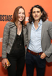Mona Pirnot and Lucas Hnath attend the Opening Night Performance of 'Straight White Men' at the Hayes Theatre on July 23, 2018 in New York City.