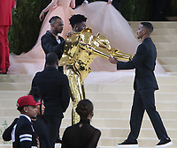 September 13, 2021.Lil Nax X attend The 2021 Met Gala Celebrating In America: A Lexicon Of Fashion at<br /> Metropolitan Museum of Art  in New York September 13, 2021 Credit:RW/MediaPunch