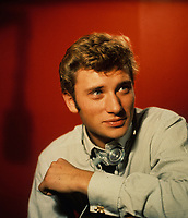 Johnny Hallyday<br /> Credit : Rouget /DALLE