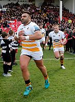 Photo: Richard Lane/Richard Lane Photography. Gloucester Rugby v Wasps. Gallagher Premiership. 23/03/2019. Wasps' Zurabi Zhvania.