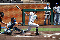 Wright State Raiders second baseman Tyler Black (6) at bat against the Duke Blue Devils in NCAA Regional play on Robert M. Lindsay Field at Lindsey Nelson Stadium on June 5, 2021, in Knoxville, Tennessee. (Danny Parker/Four Seam Images)