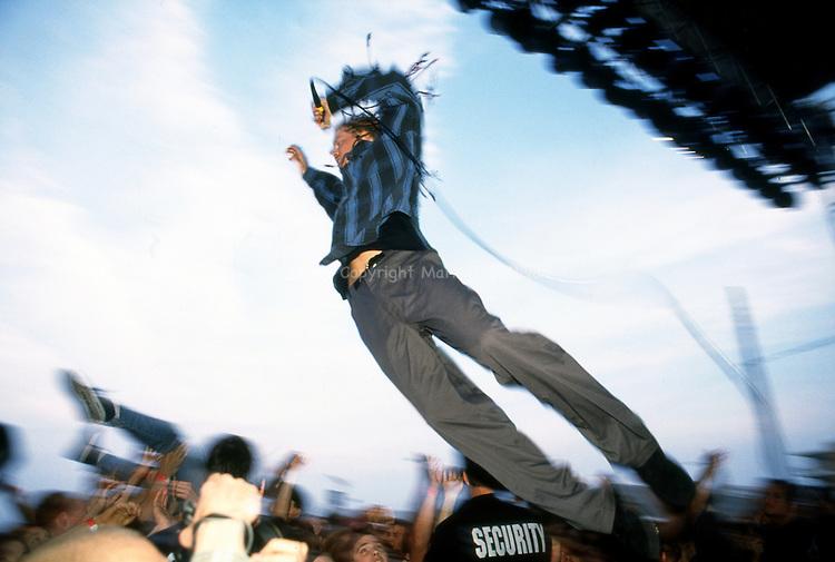Dexter Holland.The Offspring.The Stone Pony Lot.Asbury Park, NJ.