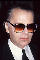 Karl Lagerfeld, 1990 Photo by Adam Scull-PHOTOlink.net