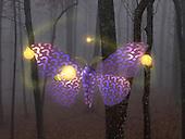 Light bulbs buzzing around Moth