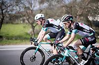 defending Tirreno champion Simon Yates (GBR/Bike Exchange)<br /> <br /> Stage 1 from Lido di Camaiore to Lido di Camaiore (156km)<br /> <br /> 56th Tirreno-Adriatico 2021 (2.UWT) <br /> <br /> ©kramon