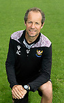 Alec Cleland, First Team Coach,  St Johnstone FC...2021-22 Season<br />Picture by Graeme Hart.<br />Copyright Perthshire Picture Agency<br />Tel: 01738 623350  Mobile: 07990 594431