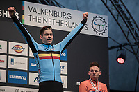 Wout Van Aert (BEL/Crelan-Charles) is World Champion for the 3rd year in a row<br /> <br /> Men Elite Race<br /> UCI CX Worlds 2018<br /> Valkenburg - The Netherlands
