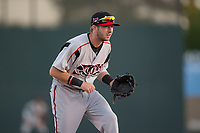 Lake Elsinore Storm third baseman Matthew Batten (29) during a California League game against the Modesto Nuts at John Thurman Field on May 11, 2018 in Modesto, California. Modesto defeated Lake Elsinore 3-1. (Zachary Lucy/Four Seam Images)