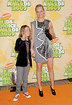 Amber Valletta at The 2009 Nickelodeon's Kids Choice Awards held at Pauley Pavilion in West Hollywood, California on March 28,2009                                                                     Copyright 2009 Debbie VanStory/RockinExposures