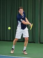 Rotterdam, Netherlands, Januari 24, 2016,  ABNAMROWTT Supermatch, Sander van Dongen (NED)<br /> Photo: Tennisimages/Henk Koster
