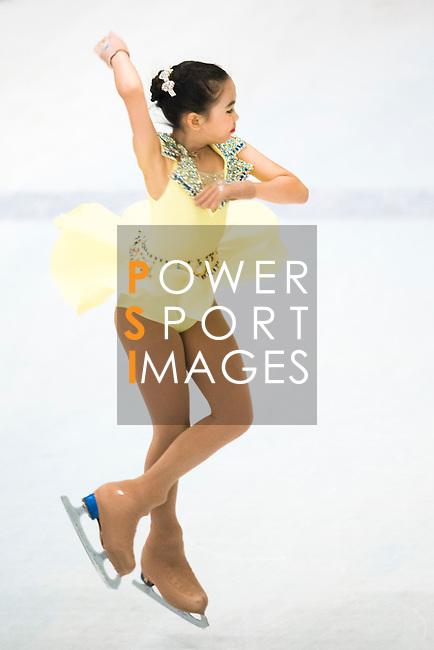 Natcha Ketsarin of Thailand competes during the Asian Junior Figure Skating Challenge Hong Kong 2016 at Kowloon Tong's Festival Walk Glacier on 03 October 2016, in Hong Kong, China. Photo by Marcio Machado / Power Sport Images