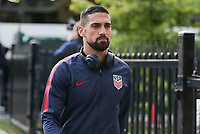 TORONTO, ON - OCTOBER 15: Sebastian Lletget #17 of the United States as he enters the stadium during a game between Canada and USMNT at BMO Field on October 15, 2019 in Toronto, Canada.