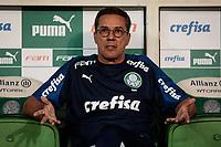 São Paulo (SP), 20/02/2020 - Palmeiras-Guarani - Vanderlei Luxemburgo. Palmeiras e Guarani, durante partida válida pela sétima rodada do campeonato paulista 2020, no Allianz Parque, zona oeste da capital, na noite desta quinta-feira (20).