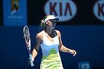Wozniacki wins at Australian Open in Melbourne Australia on 15th January 2013