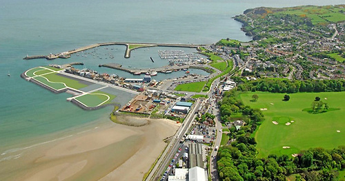 Howth Dredging - It is proposed to reuse the dredged material to create an area for the public realm on the west side of Howth's West Pier.