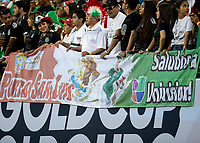 CHARLOTTE, NC - JUNE 23: Mexican fans during a game between Mexico and Martinique at Bank of America Stadium on June 23, 2019 in Charlotte, North Carolina.