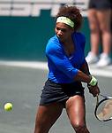 Serena Williams at the Family Circle Cup in Charleston, South Carolina on April 8, 2012