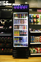 The food and beverage display