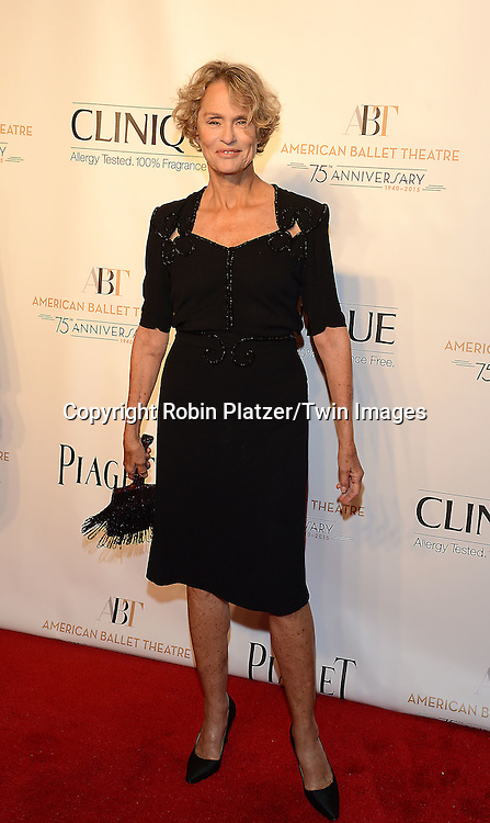 Lauren Hutton attends the Opening Night of American Ballet Theatre 2014 Fall Gala on October 22,2014 at the David Koch Theater at Lincoln Center in New York City. <br /> <br /> photo by Robin Platzer/Twin Images<br />  <br /> phone number 212-935-0770