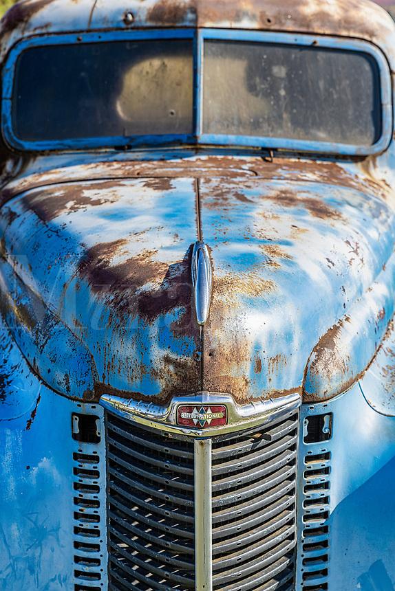 International Harvester classic truck, Vermont, USA.