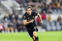 LOS ANGELES, CA - MARCH 08: Dejan Jakovic #4 of LAFC against Philadelphia Union during a game between Philadelphia Union and Los Angeles FC at Banc of California Stadium on March 08, 2020 in Los Angeles, California.