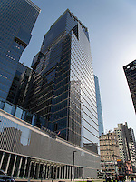 Architektur im Viertel Myeongdong, Seoul, Südkorea, Asien<br /> Architecture in Myeongdong, Seoul, South Korea, Asia