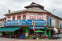 Ipoh, Malaysia.  Corner Restaurant.