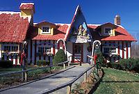 Vermont, VT, Putney, Santa's Land a Christmas Village.
