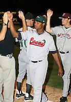 Miguel Ramirez of the Great Lakes Loons during the Midwest League All-Star game.  Photo by:  Mike Janes/Four Seam Images