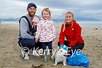 Enjoying a stroll in Banna on Saturday, l to r: Damien, Paige, Adalynn and Karen Wallace and Chico the dog.