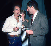Sid Caesar Elliott Gould 1984<br /> Photo by Adam Scull/PHOTOlink
