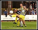 31/8/02       Collect Pic : James Stewart                     .File Name : stewart-falkirk v qots 05.DEREK ALLAN CLEARS FROM FALKIRK'S LEE MILLER.....James Stewart Photo Agency, 19 Carronlea Drive, Falkirk. FK2 8DN      Vat Reg No. 607 6932 25.Office : +44 (0)1324 570906     .Mobile : + 44 (0)7721 416997.Fax     :  +44 (0)1324 570906.E-mail : jim@jspa.co.uk.If you require further information then contact Jim Stewart on any of the numbers above.........
