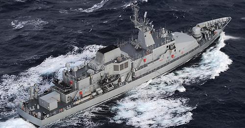 LÉ James Joyce (P62) one of the Irish Navy's offshore patrol vessels