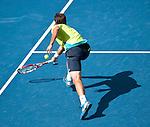 Stanislas Wawrinka of Switzerland at the Western & Southern Open in Mason, OH on August 18, 2012.