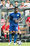 Leicester City FC midfielder Daniel Amartey in action during the Premier League Asia Trophy match between Leicester City FC and West Bromwich Albion at Hong Kong Stadium on 19 July 2017, in Hong Kong, China. Photo by Weixiang Lim / Power Sport Images