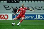Nationwide Friendly International Wales v Sweden at the Liberty Stadium in Swansea : Wales Captain James Collins...