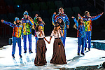 SOCHI, RUSSIA  - JANUARY 7:<br /> t.A.T.u. performs during the Opening Ceremony of the 2014 Sochi Olympics at Fisht Olympic Stadium Friday February 7, 2014.<br /> (Photo by Chris Detrick/The Salt Lake Tribune)