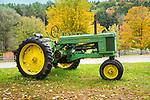 Vintage John Deere 50 tractor. 1940's