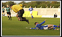 5/10/02       Copyright Pic : James Stewart                     .File Name : stewart-hamilton v stranraer 04.JOHN FALLON GOES IN LATE ON GRAHAM POTTER....James Stewart Photo Agency, 19 Carronlea Drive, Falkirk. FK2 8DN      Vat Reg No. 607 6932 25.Office : +44 (0)1324 570906     .Mobile : + 44 (0)7721 416997.Fax     :  +44 (0)1324 570906.E-mail : jim@jspa.co.uk.If you require further information then contact Jim Stewart on any of the numbers above.........