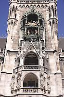 - Germany, Munich, the Town Hall tower....- Germania, Monaco di Baviera, la torre del municipio