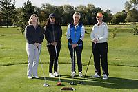 From left are Kim Oscroft, Karen Sandhu, Kirsten Hardiker and Gail McManus of Team Buckles