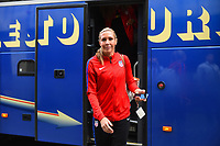 Gothenburg, Sweden - Thursday June 08, 2017: Allie Long prior to an international friendly match between the women's national teams of Sweden (SWE) and the United States (USA) at Gamla Ullevi Stadium.