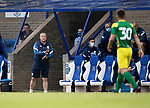 St Johnstone v Preston North End…13.07.21  McDiarmid Park<br />Preston manager Frankie McAvoy<br />Picture by Graeme Hart.<br />Copyright Perthshire Picture Agency<br />Tel: 01738 623350  Mobile: 07990 594431