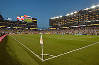 Santa Clara, CA. - June 3, 2016: The U.S. Men's national team go down 0-2 to Colombia in second half action during their opening match at the 2016 Copa America Centenario at Levi's stadium.
